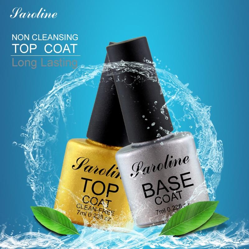 Saroline hot sale Base Coat gel Top Coat bonder top base coat Gel font b Polish