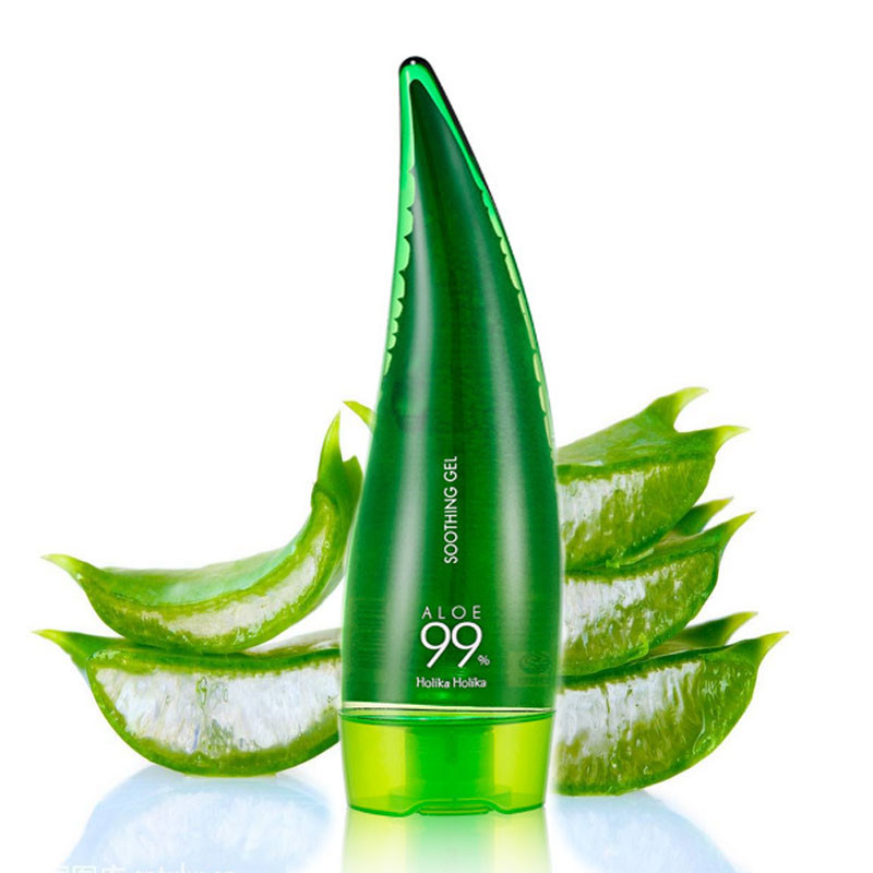 99% Aloe Soothing Gel Aloe Vera Gel Skin Care Remove Acne Moisturizing Day Cream Sunscreen Aloe Gel 55ml