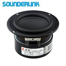 """Sounderlink Audio Labs altavoz de graves profundos, 3 """", 25W, 30W, rango completo, 2 uds. Por lote"""