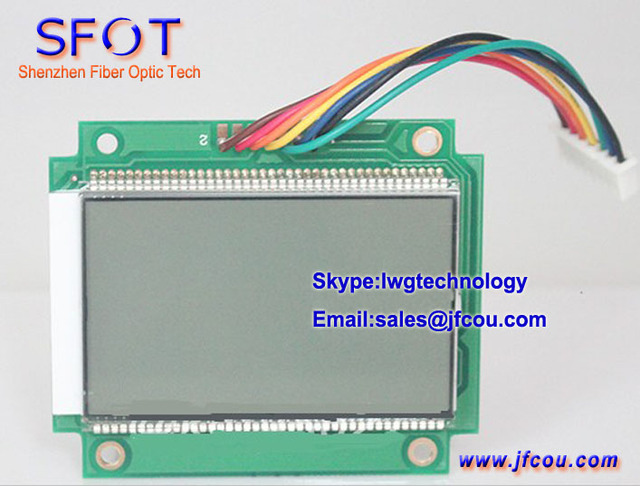 Lcd para HT828B nível de sinal analógico medidor, Catv Signal Level medidor ( RF Signal medidor, Db Meter )