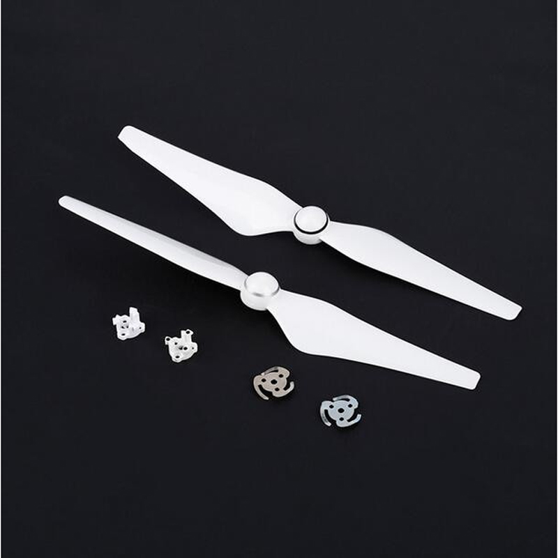2 pairs Phantom 4 9450 Quick Release Propellers 9450S Blade Props with Installation Mount for DJI Phantom 4 & 4Pro & 4Pro+