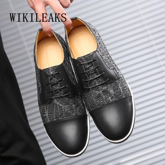 2019 màu sắc hỗn hợp giày oxford cho người đàn ông giày kích thước siêu lớn zapatillas hombre giày da nam giới thường schoenen chaussure homme