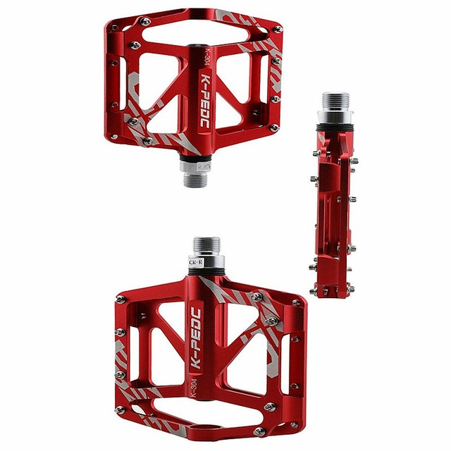 Bicycle Pedal Aluminum/Alloy Mountain Bike Pedals Road Cycling Sealed 3 Bearing Pedals BMX UltraLight bike Pedal Bicycle Parts