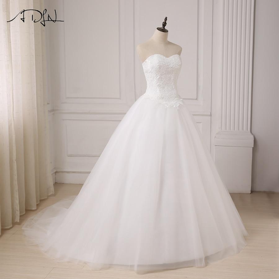 ADLN Robe De Mariage Princess White / Rochie de mireasa rochie de - Rochii de mireasa - Fotografie 4
