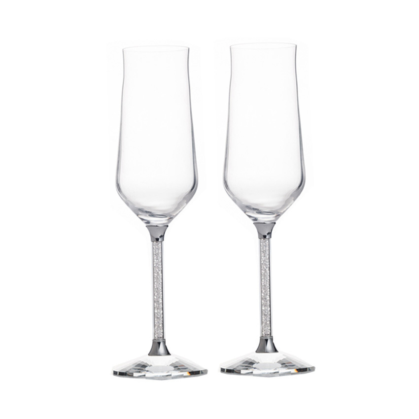 Wedding Gift Champagne Flutes: GFHGSD Champagne Glass Flutes Perfect For Wedding Gifts