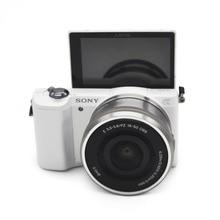 Б/у, sony Альфа A5000 беззеркальная цифровая Камера 16-50 мм OSS Lens опционально