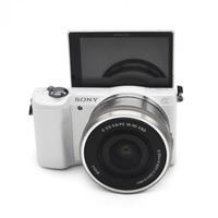 Used,Sony Alpha A5000 Mirrorless Digital Camera 16 50mm OSS Lens Optional