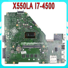 X550LA for ASUS laptop motherboard i7-4500u REV2.0 Integrated X550LD HD4000 mainboard 100% fully tested and working
