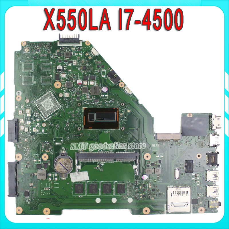 X550LA for ASUS laptop motherboard i7-4500u REV2.0 Integrated X550LD HD4000 mainboard 100% fully tested and working for msi ms 10371 intel laptop motherboard mainboard fully tested works well