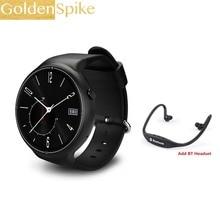 Goldenspike I4 Pro Relógio Inteligente Ram 2 GB/Rom 16 GB Watchphone MTK6580 Dual Core Android 5.1 3G Bluetooth Smartwatch para Andorid/IOS