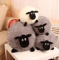Pernycess 1pcs 50cm Black and white sheep puppet doll pillow