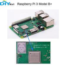 Original Raspberry Pi Modelo B + RPi 3 64Bit 3B Plus Placa Mãe 1.4 ghz Processador Quad-Core CPU WIFI Bluetooth