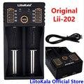 LiitoKala Lii-202 Cargador de Batería Inteligente con Función de Banco de Potencia USB para Ni-MH batería de Litio para 18650 26650 18350 14500 lii202