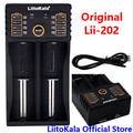 LiitoKala Lii-202 USB Intelligent Battery Charger with Power Bank Function for Ni-MH Lithium for 18650 26650 18350 14500 lii202