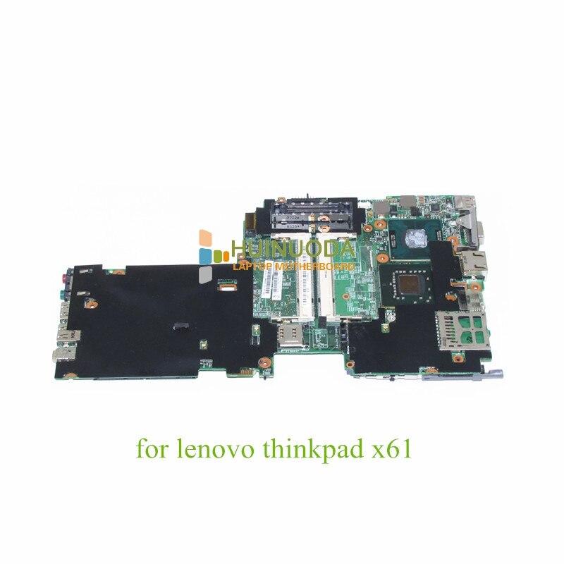 NOKOTION FRU 42W7770 Laptop Motherboard For Lenovo X61 ThinkPad Mian Board 48.4B401.011 T7300 2.0 Ghz CPU DDR2
