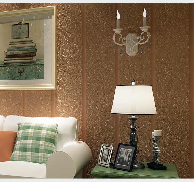 Современный простой Твердый рулон обоев с полосатым рисунком для спальни нетканый узор обои постельные принадлежности гостиная украшение дома 10 м