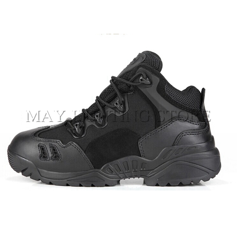 ФОТО Sport High Quality Men Women Military Tactical Outdoor Boots Army Outdoor Hiking Camping Training Ankle Boots