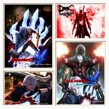 Devil May Cry DMC Posters White Coated Paper Prints Modern Style Wall Stickers Home Decoration Home Art Brand(China)