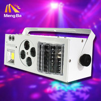 New DMX512 butterfly lights 4in1 Effect light LED &RG Laser&4 eyes patterns light &white strobe KTV club Disco dj lighting