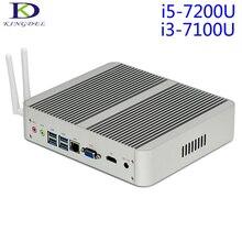 2017 последним i3 i5 mini pc, intel кабы озеро седьмого поколения. 7100u core i3/i5 7200u, безвентиляторный мини настольных компьютеров, 4 К htpc, 4096×2304, usb3.0