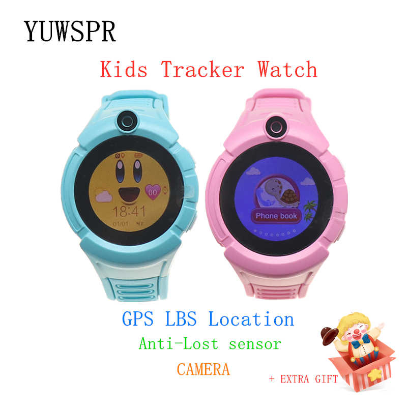 Kids GPS tracker Smart Watch WIFI GPS LBS Location Anti-Lost sensor flashlight Camera SOS Call Children Smart Clock Gift Q610S