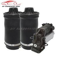 1 комплект Air газовая пружина сумки с газовый шок компрессор насос для Mercedes Benz W164 ML350 ML500 1643200625 1643201204