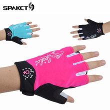 mountain bike riding half gloves bicycle aseismic slip gloves for male and female