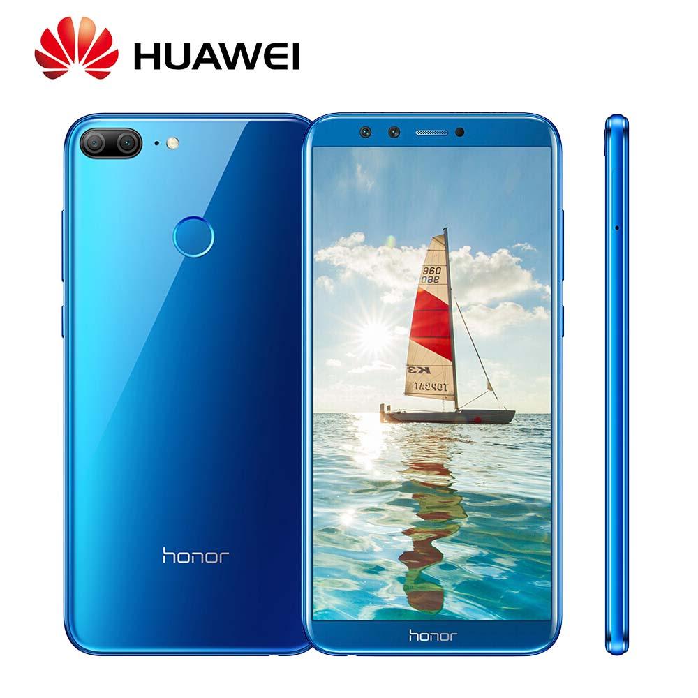 Mondial Rom Huawei Honor 9 Lite 3/4 gb 32 gb Double 13 + 2 mp Caméras Android 8.0 3000 mah 5.65 Kirin 659 Octa Core 4g LTE Mobile Téléphone