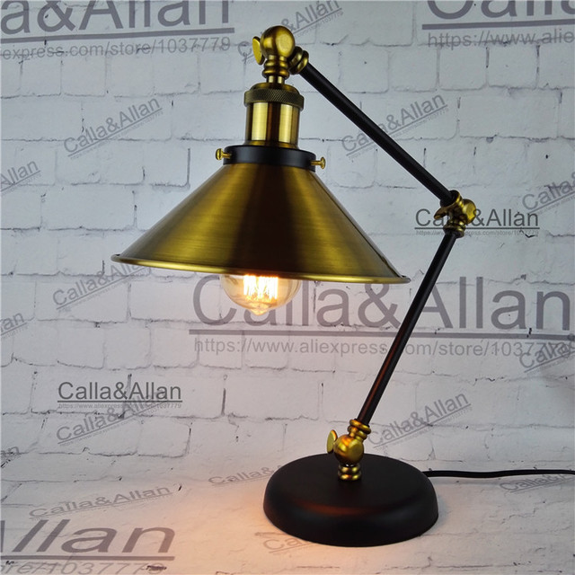 Edison bulb 60w assembled bronze iron table lighting 18m wire with edison bulb 60w assembled bronze iron table lighting 18m wire with switch and plug beside greentooth Image collections