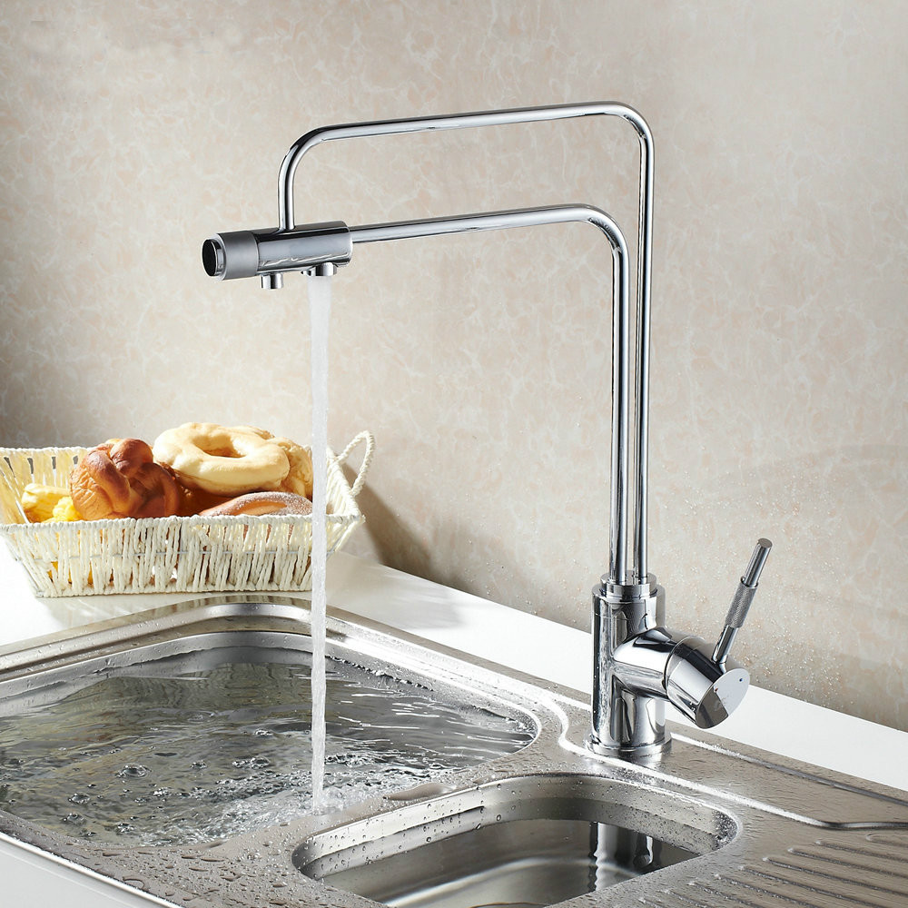 2014 Contemporary Single Handle Polished None Ceramic New Arrival Torneira Cozinha Kitchen Faucet Hot And Cold