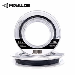 Mavllos 100M Fishing Fire Line Better Cut Water Strong Smooth PE Fishing Lines MONO Process Producing Floating Line