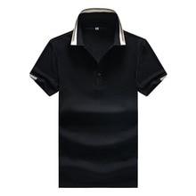 mens fashion 2019 Polo Shirt Men Summer Cotton Striped Polos Shirts Man Famous brand Short Sleeve Homme Camisas Plus Size XXXL