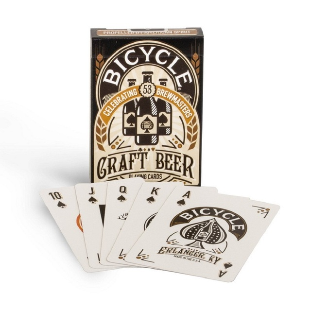 Bicycle Craft Beer Deck Standard Playing Cards Poker Magic Props Close Up Tricks