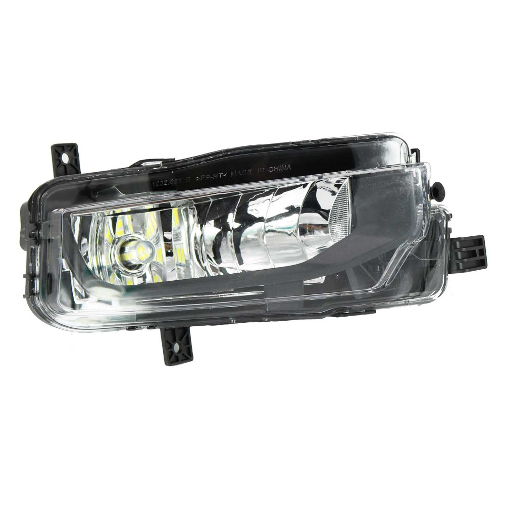 LED Light For VW T6 T7 Transporter Multivan Campmob Car-Styling 2016 2017 Front Right Side LED Fog Lamp Fog Light right side for vw polo vento derby 2014 2015 2016 2017 front halogen fog light fog lamp assembly two holes