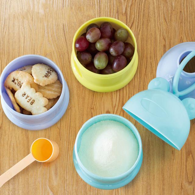 Three Layers Formula Milk Powder/Snack Dispenser
