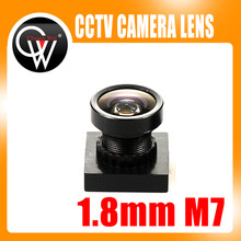 5pcs 1/3″ cctv 1.8mm Lens 170degree wide angle M7*0.5 for CCTV Security MINI camera