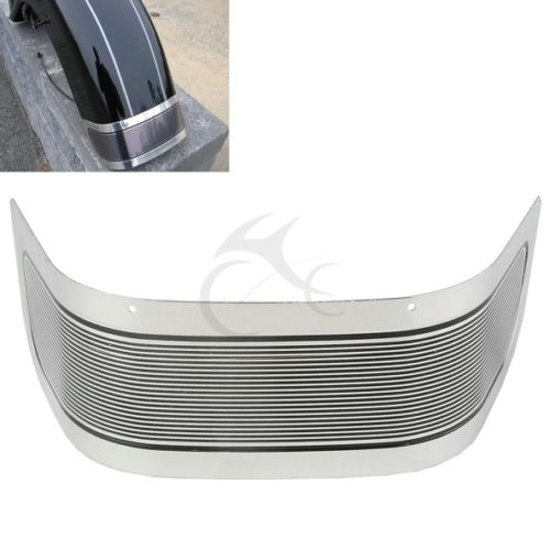 Frames & Fittings Just Black Motorcycle Front Fender Skirt For Harley Touring And Tri Glide Models 2014 2015 2016 With Original Equipment Fender Skirts