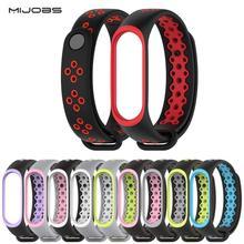 Mi Band 3 ремешок Спортивные Силиконовые часы-браслет на запястье mi band3 ремень аксессуары mi band3 браслет Умные для Xiaomi mi band 3 ремень