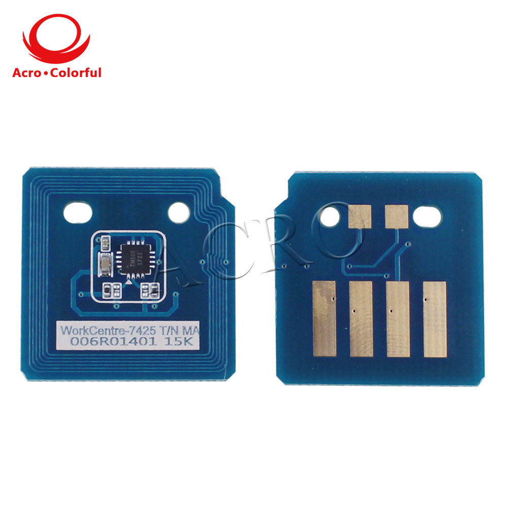 006R01395 006R01398 006R01397 006R01396 toner chip for Xerox WorkCentre 7425 7428 7435 laser printer spare parts reset cartridge in Cartridge Chip from Computer Office