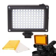 AriLight Mini LED Video Light Photo Lighting on Camera Hotshoe Dimmable LED Lamp for Canon Nikon Sony Camcorder DV DSLR Youtube