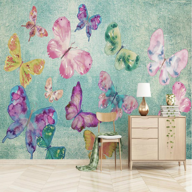 3d Wallpaper Living Room Home Improvement Modern Wallpaper Background Wall Painting Mural Silk Paper Butterfly dancing3d Wallpaper Living Room Home Improvement Modern Wallpaper Background Wall Painting Mural Silk Paper Butterfly dancing