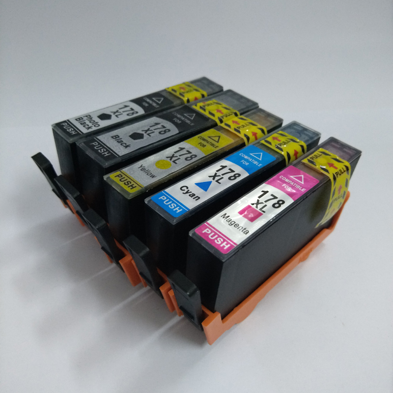 For HP178 Ink Cartridge For HP 178 For HP Photosmart 5510 6510 7510 B109a B110a B210a