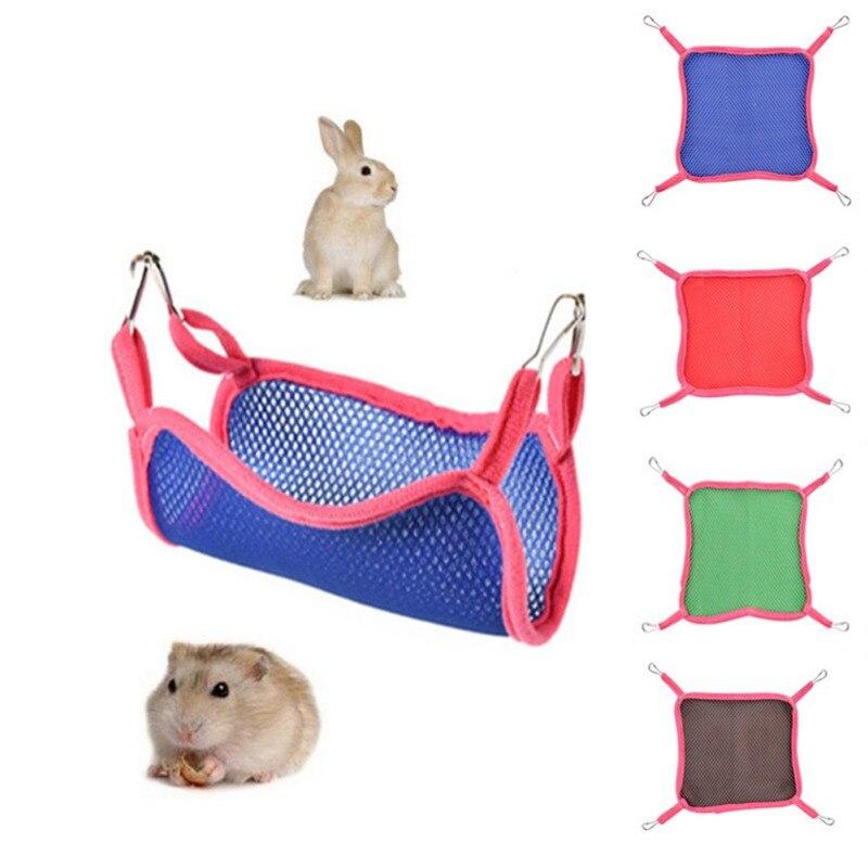 Independent Summer Breathable Mesh Hammock Hamster Squirrel Hanging Bed Nest Pet Sleep Bag Bird Cages & Nests Bird Supplies