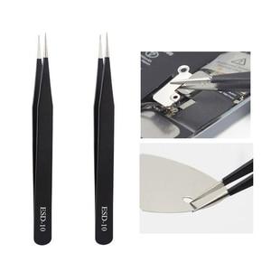 Image 4 - 17 em 1 universal móvel tela lcd abertura ferramentas de reparo conjunto chave de fenda ferramentas de reparo ventosa pry barra ferramentas dissamebly