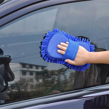 Hot Ultrafine Fiber Chenille Anthozoan Car Wash Gloves Microfiber Car&Motorcycle Washer Supplies Car care brushes cleaning Tools