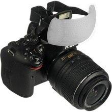 Белый цвет фугу всплывающая вспышка мягкий диффузор купол для Canon Nikon Pentax DSLR
