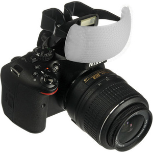 White Color Puffer Pop-Up Flash Soft Diffuser Dome For Canon Nikon Pentax DSLR(China)