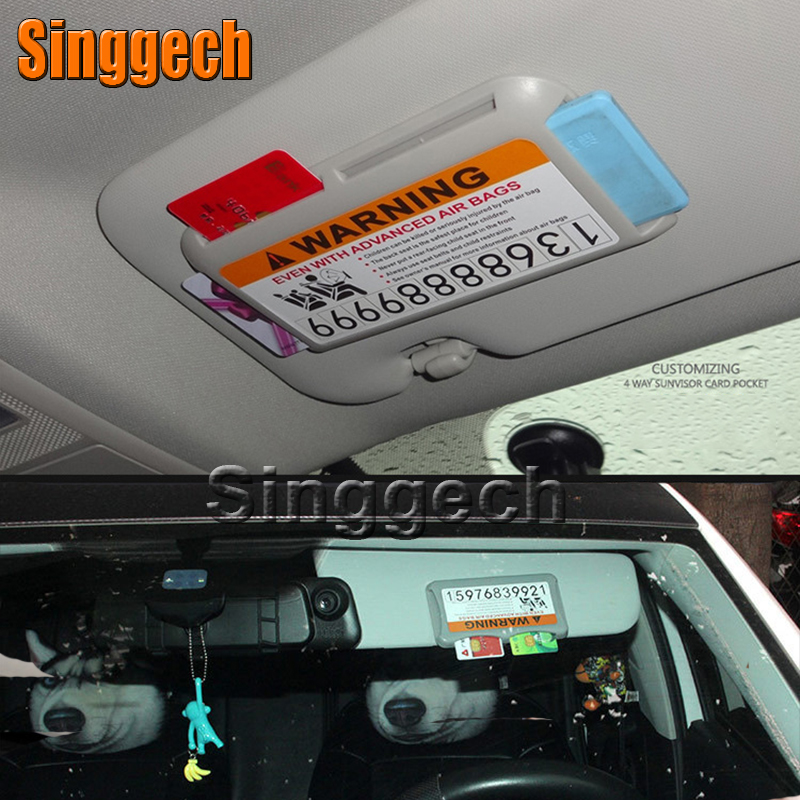 Car Styling Carring Bag For Toyota Corolla Avensis RAV4 Yaris Auris Hilux Prius verso with car stickers Temporary Parking Card universal pu leather car seat covers for toyota corolla camry rav4 auris prius yalis avensis suv auto accessories car sticks