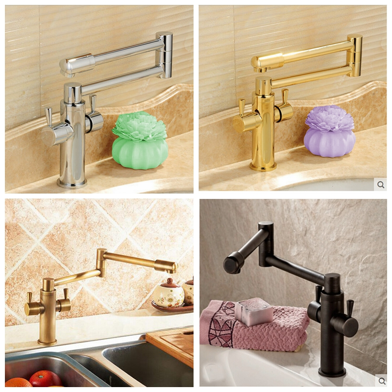 Luxury Oil Rubbed Bronze Swan Spout Bathroom Basin Faucet Tub Mixer Tap Crystal allen roth brinkley handsome oil rubbed bronze metal toothbrush holder