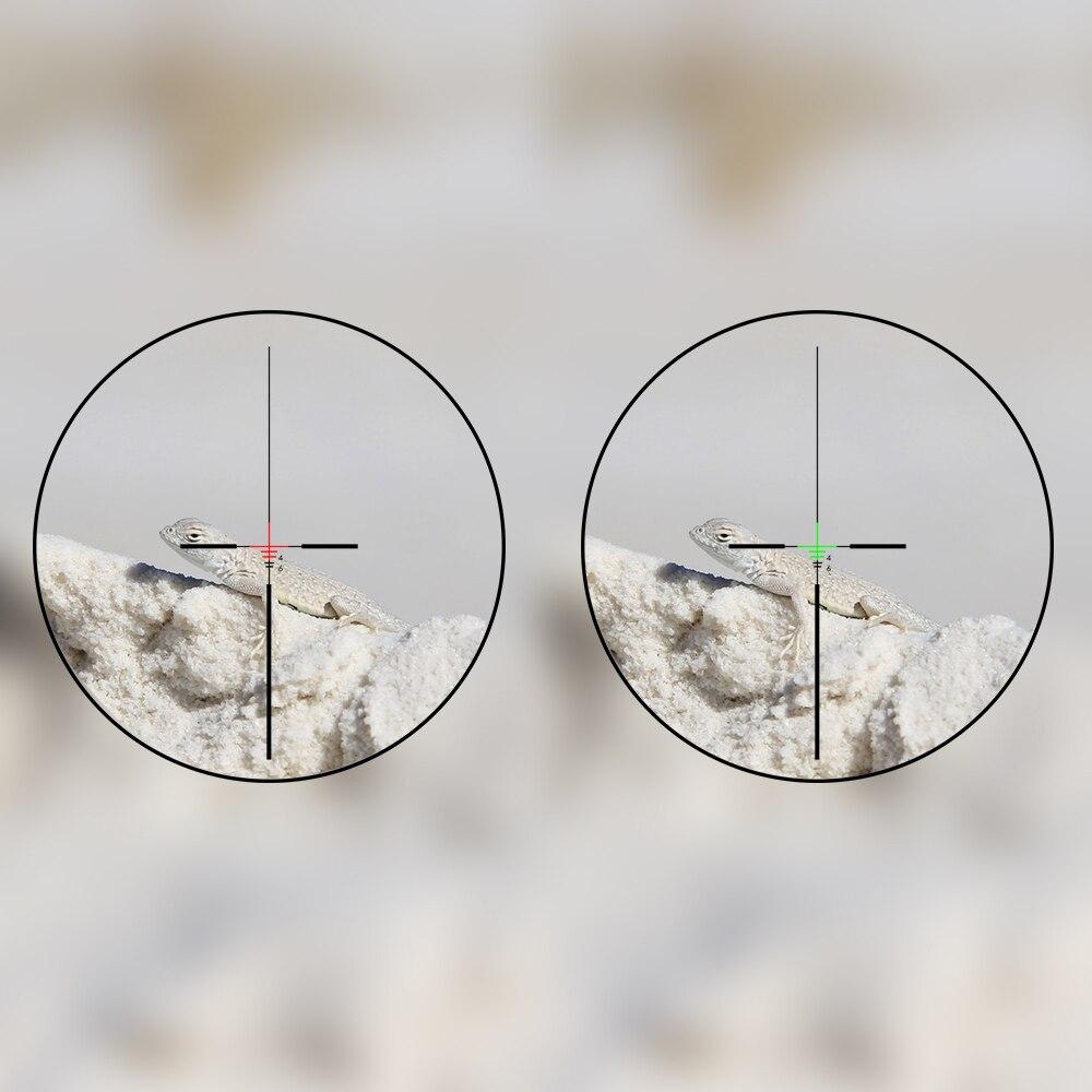 Trijicon polowanie ACOG 4X32 luneta szyna optyka czerwona zielona kropka krzyż IlluminatedGlass trawione siatka taktyczna celownik optyczny